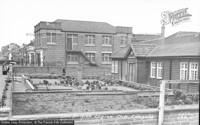 Photo of Langold, British Legion Club c.1955