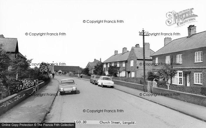 Photo of Langold, Church Street c.1960