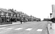 Langold, Doncaster Road c1955