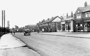 Langold, Doncaster Road Shopping Centre c1955