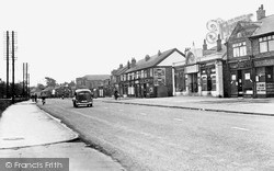 Langold, Doncaster Road Shopping Centre c.1955