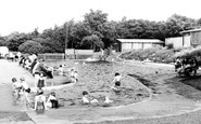 Langold, the Children's Swimming Pool c1955