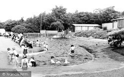The Children's Swimming Pool c.1955, Langold