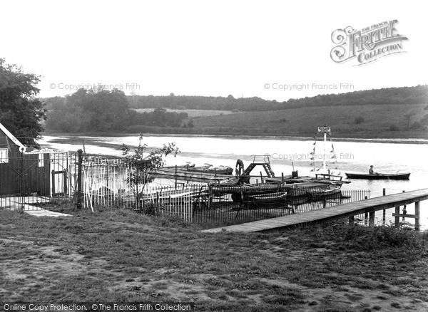 Langold, the Lake c1955