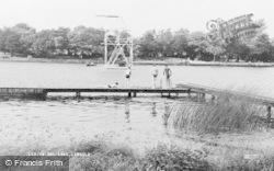 The Lake c.1955, Langold