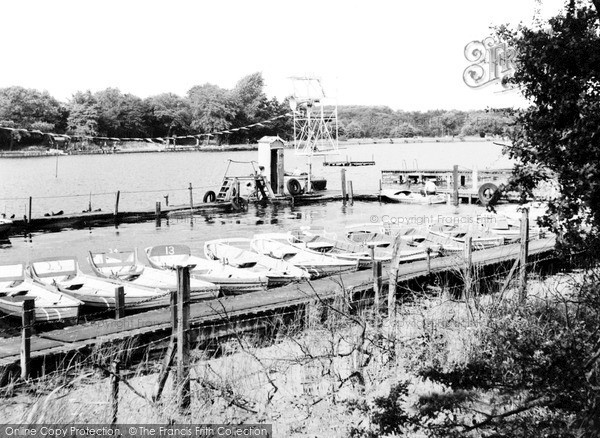 Photo of Langold, The Lake c.1955