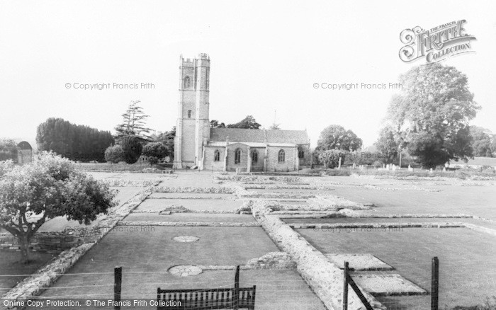 Photo of Langport, Abbey Ruins And Church c.1965