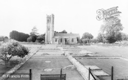 Langport, Abbey Ruins And Church c.1965