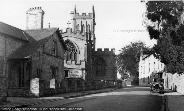 Photo of Langport, All Saints Church c.1955