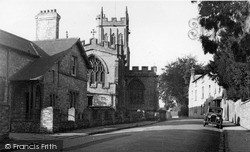 All Saints Church c.1955, Langport