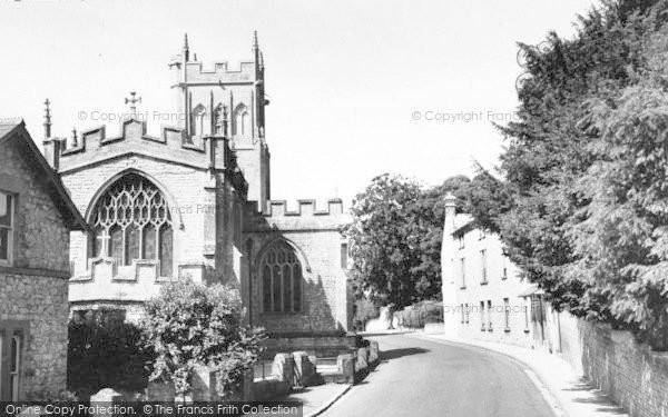 Photo of Langport, All Saints Church c.1960