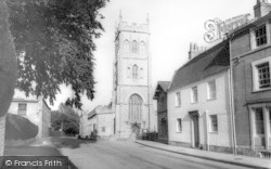 All Saints Church c.1965, Langport