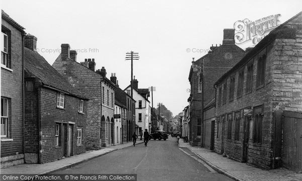 Photo of Langport, Bow Street c.1955