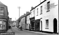 Bow Street c.1955, Langport