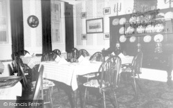 Breakfast Room, Langport Arms Hotel c.1965, Langport