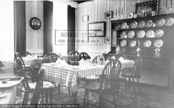 Photo of Langport, Breakfast Room, Langport Arms Hotel c.1965