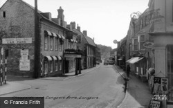Cheapside And Langport Arms c.1965, Langport