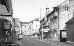 Cheapside And Langport Arms Hotel c.1965, Langport