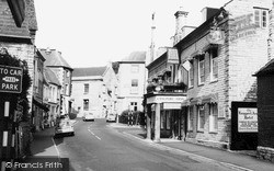 Langport, Cheapside And Langport Arms Hotel c.1965
