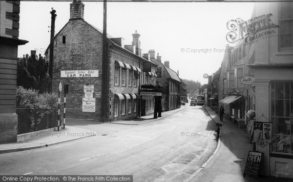 Photo of Langport, Cheapside And Langport Arms Hotel c.1965