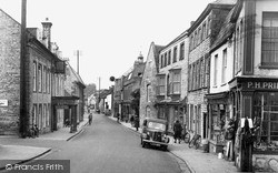 Cheapside c.1955, Langport