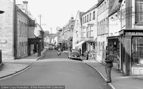 Photo of Langport, Cheapside c.1955