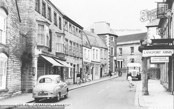 Photo of Langport, Cheapside c.1960