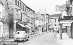 Cheapside c.1960, Langport