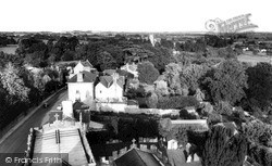 From All Saints Church c.1965, Langport