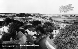 Langport, From All Saints Church c.1965