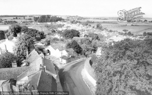 Photo of Langport, From All Saints Church c.1965
