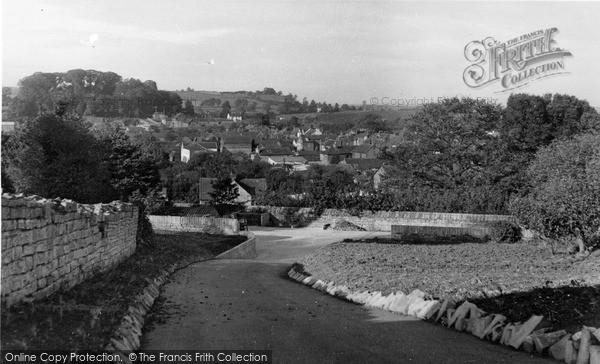 Photo of Langport, General View c.1955