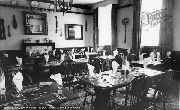 Photo of Langport, Langport Arms Hotel, Pickwick Dining Room c.1965