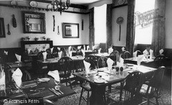Langport Arms Hotel, Pickwick Dining Room c.1965, Langport