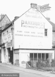 Motorcycle Shop c.1965, Langport
