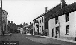 North Street c.1955, Langport