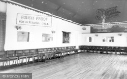 Langport, The Ballroom, Langport Arms Hotel c.1965
