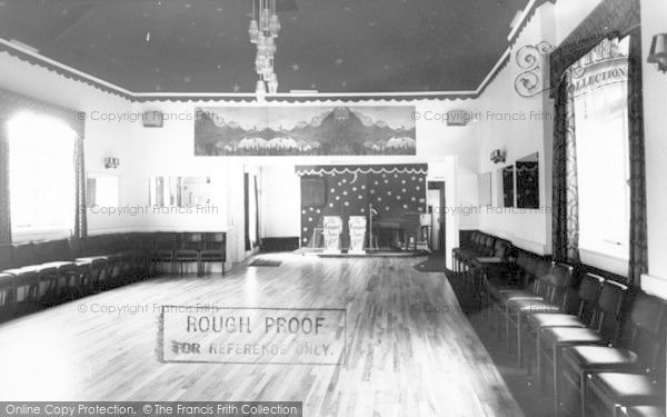 Photo of Langport, The Ballroom, Langport Arms Hotel c.1965