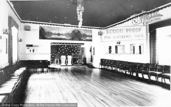 Photo of Langport, The Ballroom, Langport Arms Hotel c.1965