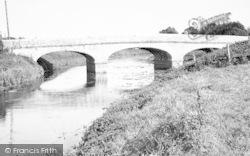 The Bridge c.1955, Langport