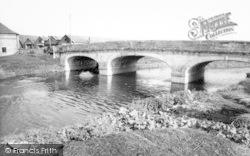 The Bridge c.1960, Langport