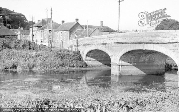 Photo of Langport, The Bridge, Westover c.1955