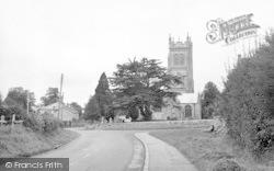 The Church c.1955, Langport