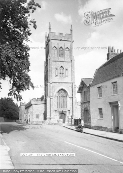 Photo of Langport, The Church c.1960