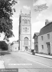 The Church c.1960, Langport