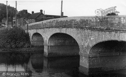 The Great Bow Bridge c.1955, Langport