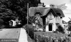 The Hanging Chapel And Old School House c.1960, Langport
