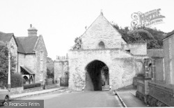 The Hanging Chapel c.1960, Langport