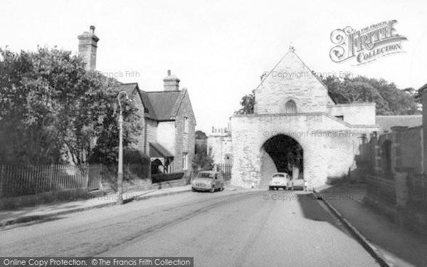Photo of Langport, The Hanging Chapel c.1965