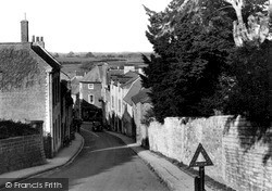 Langport, The Hill c.1955